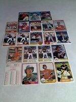 Jack Clark:  Lot of 60 cards.....59 DIFFERENT / Baseball