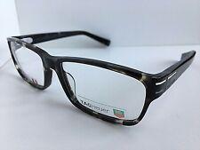 New TAG Heuer TH 0535 002 58mm Black Gray Men's Eyeglasses Frame Frame France