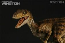 1/18 REBOR Velociraptor Alpha Male Winston PVC Dinosaur Museum Class Model