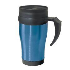 OGGI Stainless Steel Insulated Polypropylene BPA Free Travel Mug 14oz. Blue