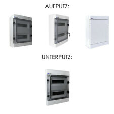 Verteilerkasten Feuchtraumverteiler Sicherungskasten IP65 VDE Aufputz/Unterputz