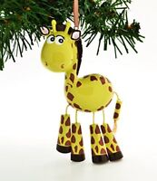 Giraffe Personalized Christmas Tree Ornament Personalized