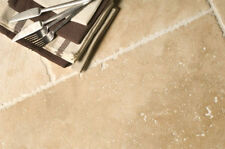 SAMPLE OF RUSTIC BRUSHED & CHIPPED EDGE TRAVERTINE