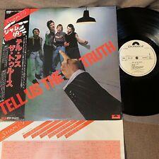Promo SHAM 69 Tell Us The Truth JAPAN LP MPF-1291 w/OBI+INSERT White label FreeS