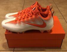 Nike Vapor Untouchable Pro CF Football Cleats Size 12 White Orange 922898-181