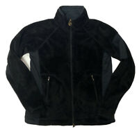 Columbia Titanium Flex Fleece Jacket Women's Medium Black Plush Soft Full Zip