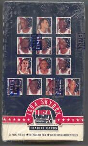 1994 SkyBox U.S.A  Basketball Box