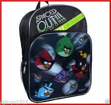 Angry Birds 16 Inch School Backpack 3D NWT Spaced Out!
