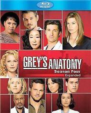 Greys Anatomy - The Complete Fourth Season (Blu-ray Disc, 2008, 5-Disc Set)