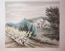 Zarou ! Litho EA signée main Artprice Benezit Expressionnisme Provence