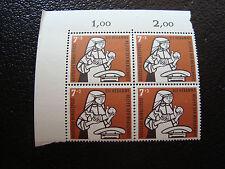 GERMANIA (rfg) - francobollo - yvert e tellier n° 119 x4 n (A5) stamp germany
