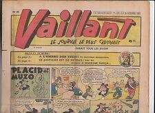 VAILLANT n° 85 - 26 décembre 1946 - BE