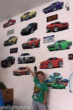 "School Sports Baseball Wall Graphic Boys & Girls Room Decor 22"" x 22"" Man Cave"