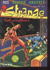 STRANGE 138 Spiderman ROM Daredevil Stan LEE 81 GOOD/BE No Poster Comic LUG