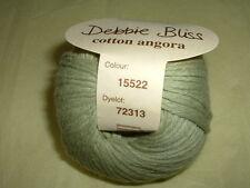 Debbie Bliss Cotton Angora -  Leaf Green  #15522