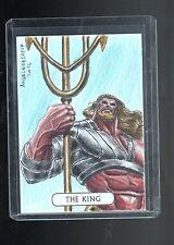 2016 Cryptozoic DC Justice league Angelo De Capva sketch card