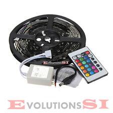 TIRA DE LED 5 METROS RGB TRANSFORMADOR 12V MANDO DISTANCIA CLASE A+ ENVIO 24/48H