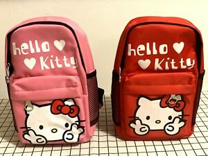 NEW Hello Kitty Kid's Backpack ( Pink / Red )