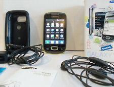 cellulare telefonino samsung galaxy mini schermo gt-s5570 phone caricabatteria
