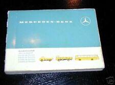 Scheckheft pour Mercedes Véhicules Utilitaires Anfang (Début) 70er Années
