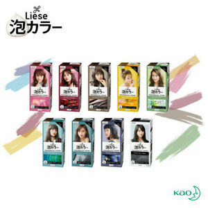 Kao Liese Creamy Bubble Color Hair Dyeing Japan Cosmetics Beauty Design Series