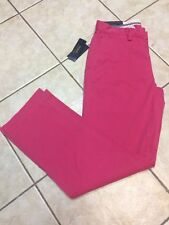 Polo Ralph Lauren Classic Fit Flat Front Chino Pant 32 x 32 Ultra Pink NWT $89