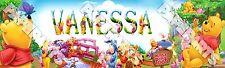 "Disney Winnie the Pooh Poster 30"" x 8.5"" Custom Name Painting Printing"