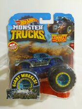 Hot wheels Monster Trucks Connect and Crash Nessie Sary Roughness Diecast Blue
