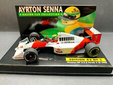 Minichamps - Ayrton Senna -McLaren - MP4/5B - 1:43 -1990 - World Champion -ASC03