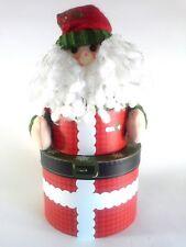 Studio18 Santa / Elf Double Gift Box Christmas Gift Idea Red Green White