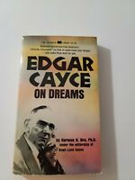 Edgar Cayce on Dreams by Harmon H. Bro & Hugh Lynn Cayce (1968 PB) 1st Printing
