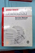 2002/2003 FACTORY ISSUED JOHNSON SERVICE MANUAL SN/ST 60° SEE MODELS LISTED VGC