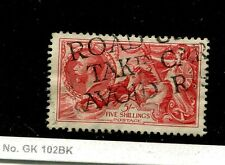 Great Britain Scott 180 5 Shillings Stamp Cancelled 7672H