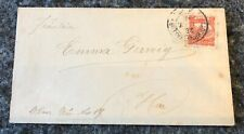 GERMANY/LOCAL MAIL: Pforzheim 3 pf on priivate local mail cover 1896, scarce.
