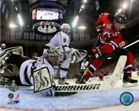 "Jonathan Quick Los Angeles Kings Stanley Cup Net Cam Photo (Size: 8"" x 10"")"