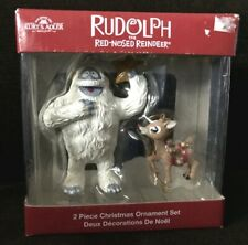 Kurt Adler Rudolph The Red Nosed Reindeer Set Of 2 Ornaments Bumble & Rudolph