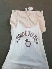 Bride To Be Pj Set Size 18-20
