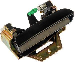 97-10 DAKOTA 06-09 RAIDER TAILGATE HANDLE SMOOTH BLACK NEW #80171