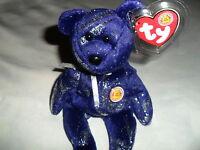 "NEW TY BEANIE BABIE HTF BBOM NOVEMBER  2004  BEAR   ""ASTRA""    MWMT"