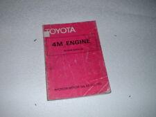 GENUINE TOYOTA 4M ENGINE REPAIR MANUAL. 1974.
