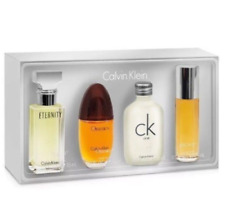 women Calvin Klein Eternity + Obsession + CK one + Escape 4 piece Mini Gift Set