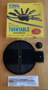 VINTAGE ATLAS HO SCALE MANUALLY OPERATED TURNTABLE New Old Stock Model 302 W Box