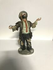 "Emmett Kelly Jr 1982 ""The Balancing Act"" Flambro Authen Box Signature Collection"