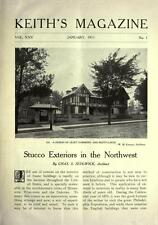 Keith's Magazine Home Building 1905-1921 advertisements 150 Magazine Issues DVD