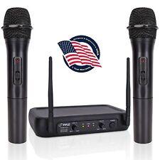 Microfonos Inalambricos Profesionales Para Presentadores Karaoke Dj Vlogger
