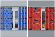 Dormitorio Infantil Cortinas Juego Disney Caracteres