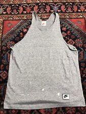 New listing Vintage 90s Nike Gray Tag Tank Top Shirt Tri Blend Distressed