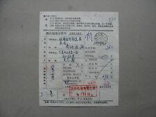 CHINA PR, inland parcelpost form 1983