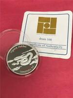 2007 Armenia 'Armenian Viper' .925 100 Dram Proof w/ COA