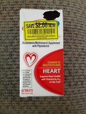 Centrum Specialist Heart Complete Multivitamin Supplement (60 Tablets) 02/2020